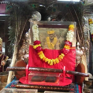 Shirdi Baba's sandals and healing stick